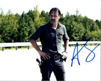 Andrew Lincoln Walking Dead signed 8x10 autographed Photo + COA