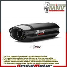 Scarico MIVV Suono Nero Acciaio inox Sotto sella Honda Cbr 600 Rr 2007 > 2012