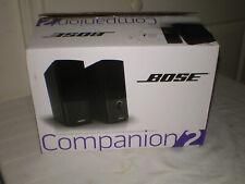 NEW Bose - Companion 2 Series III Multimedia Speaker System (2-Piece) - Black
