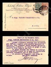 Trani - Industria Molitoria Palmieri 14.12.1920