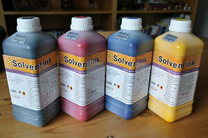 """Eco Solvent Ink """"4 Litter """" For Eco solvent EPSON Heads Dx4,Dx5,Dx7"""