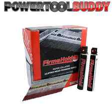 1 X FIRMAHOLD FIRST FIX NAIL PACK 90mm x 3.1mm 2200 NAILS + 2 FUEL CELLS