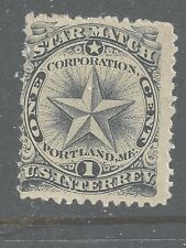 RO 172a--STAR  MATCHES 1 CENT PRIVATE DIE MATCH STAMP--49