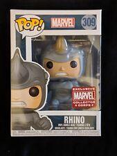 Brand New in Box Funko Pop! #309 THE RHINO *Marvel Collector Corps Exclusive!!*