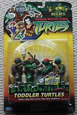 toddler turtles Teenage Mutant Ninja Action Figures original vintage carded