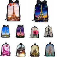 Women Backpack Girls Boys School Shoulder Bag Bookbag Rucksack Travel Handbag