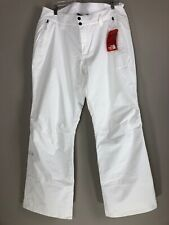 NWT The North Face Sally White Insulated Waterproof Snow Pants Womens Size XL