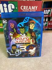 LIGHTLY USED (Played Once) BLU-RAY DVD Disc DC YOUNG JUSTICE Outsiders SEASON 3