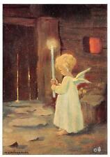"vintage blank greeting cards  ARS SACRA Schönermark""christmas light""1343"""