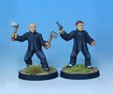 Pulp Alley --  Fang's Hatchetmen #2 28mm Miniatures Pack