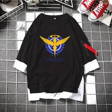 Summer Anime GUNDAM Cosplay T-shirt Unisex Short Sleeve Casual Tee S-3XL