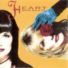 CD audio HEART - DESIRE WALKS ON (Folk Rock 1993) 724382754022