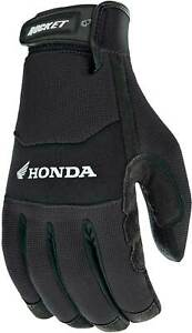 Joe Rocket Honda Crew Touch Gloves - Motorcycle Street Bike Riding Touchscreen