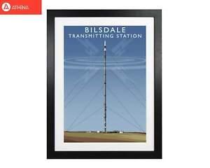 Bilsdale Transmitting Station Framed Digital Art Print by Richard O'Neill