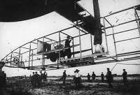 OLD AVIATION HISTORY PHOTO Alberto Santos Dumont In A Dirigible Airship