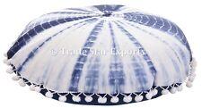 Ethnic Tie Dye Mandala Pillow Case Cotton 16x16 Shibori Cushion Sham With 2 Pcs