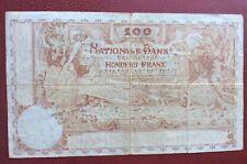 Belgique -  Joli Billet de 100 Francs  du  13-08-1920