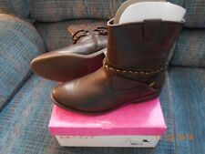Womens Sugar Texora Dark Brown Boots Size 9 New