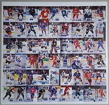 1994 Hockey Wit Rare Uncut Sheet STEVE YZERMAN Ray Bourque JARI KURRI Sakic /500