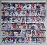 1994 Hockey Wit Rare Uncut Sheet STEVE YZERMAN Ray Bourque JARI KURRI Sakic /500