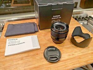 Fujifilm XF 23mm 1.4 Lens