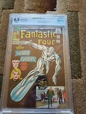 Fantastic Four #50 CBCS 6.5 WHITE PAGES Classic Silver Surfer Cover NOT CGC