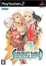 Used PS2 Shining Wind   Japan Import (Free Shipping)