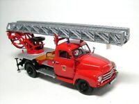 Opel Blitz 1,76t Drehleiter DL18 Feuerwehr Sinsheim - 1:43 Minichamps