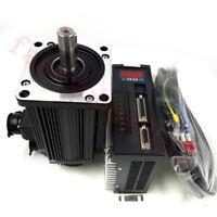 1.8KW 220V AC Servo Motor Drive Conrroller Kit 6Nm 5Nm 4Nm 2Nm NEMA42+3M Cables