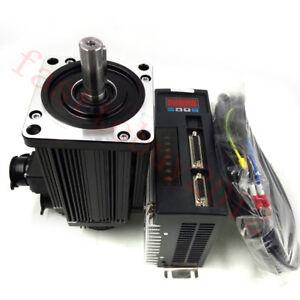 0.2KW-3.8KW 0.64NM-15NM Servo Motor AC Servo 220V Driver NEMA24-NEMA52 3000R/Min