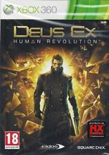 Xbox 360 **DEUS EX ♦ HUMAN REVOLUTION** usato Italiano Pal
