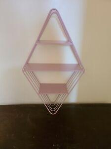 Wall Shelf 3 tier pink