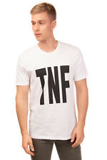 THE NORTH FACE T-Shirt Top Size L Printed 'TNF' Front Short Sleeve Crew Neck