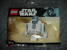 Star Wars Lego R2-D2 buildable mini figure rare polybag 30611 NEW SEALED 2017