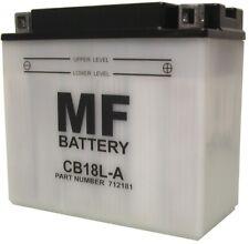 Battery (Conventional) For 1990 Moto Morini New York 501 NO ACID