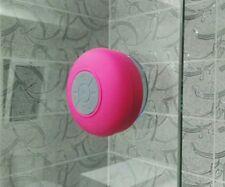 Mini HIFI Waterproof Wireless Bluetooth Handsfree Mic Suction Speaker Shower...