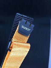 SWATCH 19 mm strap orange original watch correa band bracelet deporte sport