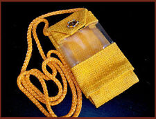 JUTE CELLPHONE CARRY POUCH/PURSE/COVER FROM INDIA!!