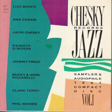 Various: [Made in USA 1990] Chesky Records Jazz Sampler & Audiophile Test CD  CD