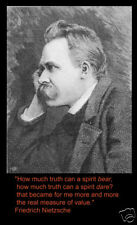 Friedrich Nietzsche picture and quote Art Print 31