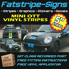 MINI BONNET STRIPES CAR VINYL GRAPHICS STICKERS DECALS 1.6 COOPER S D WORKS ONE