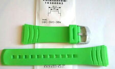 Genuine Casio Replacement Band for DBC32C-3 GREEN DBC32C DATABANK