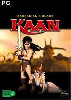 Kaan - Barbarian's Blade (PC, 2003, DVD-Box) PC Spiel