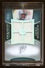 2007 EXQUISITE DAN MARINO QUAD GAME JERSEY #D /15 RARE  HOF  $650 A PACK PRODUCT