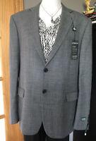 NWT RALPH LAUREN Wool Blend Ultra-flex Short Suit Jacket Sz 44 Gray Retail $450