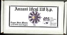 Copper State Models 1/32 ANZANI 10 CYLINDER 110 h.p. ENGINE Resin Kit