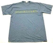 Vintage Lac Powell Chemise Homme Taille L Bleu Manches Courtes Sud-Ouest T-Shirt