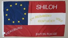 2nd Kentucky Infantry Regiment Indoor Outdoor Historical Dyed Nylon Flag 3' X 5'