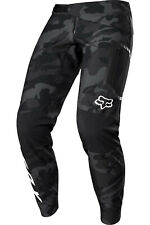 FOX DEFEND Fire Pant Softshellhose winddicht, wasserabweisend, Black-Camo, MTB