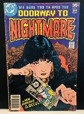 Doorway To Nightmare #1 Comic , Dc Comics Newsstand, 1st App Madame Xanadu